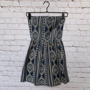BISHOP + YOUNG - Strapless Boho Mini-dress